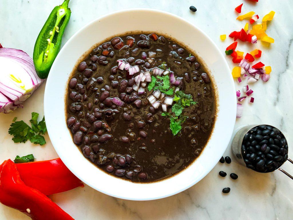 Caribbean Style Black Bean Soup