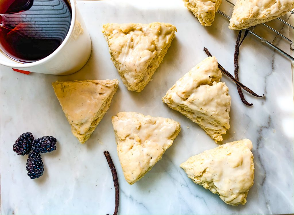 "Vanilla Bean ""Buttermilk"" Scones"